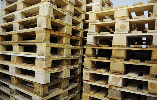Pallets packaging, Import-export pallets, wooden pallets