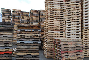 Wood pallets the environmentally friendly choice